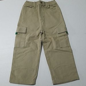 John Deere tractor boys Khaki pants 3T elastic